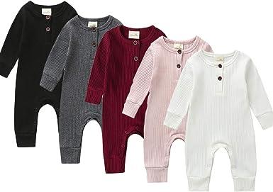 Efbj Infant Baby Girls Rompers Sleeveless Cotton Onesie Fathers Day Print Jumpsuit Summer Pajamas Bodysuit