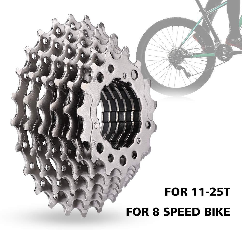 VGEBY1 Casetes para Bicicletas, Rueda Dentada, Velocidad 8-25T, Bicicleta de Carretera Rueda Libre, Accesorio de reemplazo de Bicicleta: Amazon.es: Deportes ...