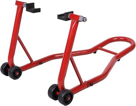 Moto arri/ère paddock stand L/ève moto B/équille datelier set moto ascenseur rouge