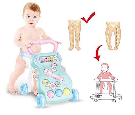 Andador para Bebés Primeros pasos del bebé Juguetes del carro del ...