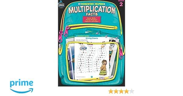 Amazon.com: Multiplication Facts, Grade 3 (Homework Helper ...