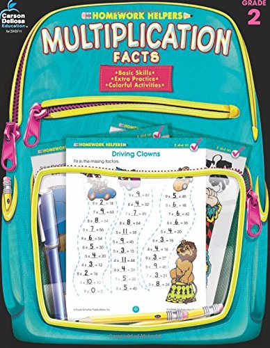 Download Multiplication Facts, Grade 3 (Homework Helper) ebook