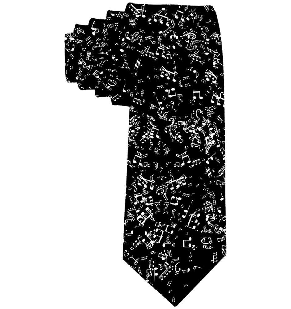 Música para hombre Notas musicales Corbata Corbata Corbata de seda ...