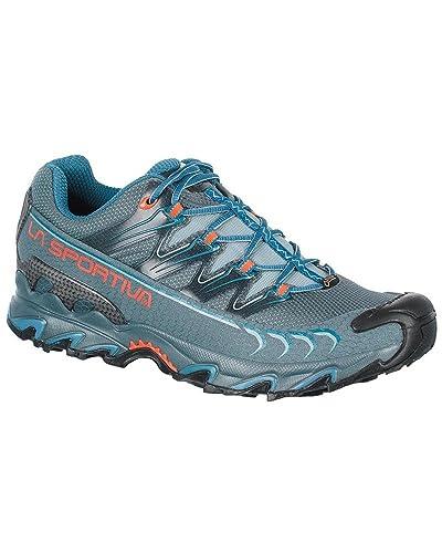 La Sportiva 26R903607, Zapatillas de Senderismo Unisex Adulto, Azul (Slate/Lake 000), 47.5 EU: Amazon.es: Zapatos y complementos