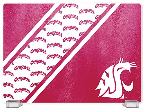 ington State Cougars Tempered Glass Cutting Board with Display Stand (Washington State Duck)