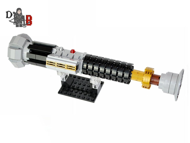 Star Wars Obi-Wan Kenobis Lichtschwert von Rache Von die Sith unter verwendung Lego Teile
