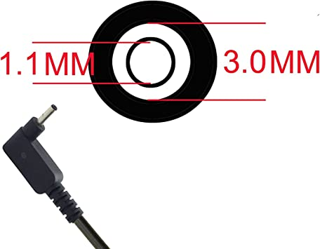 19V 2.37A AC Adattatore Caricabatteria per Acer Chromebook R11 CB5-132T CB3-111-C9K2
