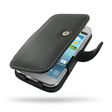 4624fad5ab5 Samsung Galaxy Win Duos Leather Case - GT-i8550 GT-i8552 - Book Type  (Black) by Pdair: Amazon.co.uk: Electronics