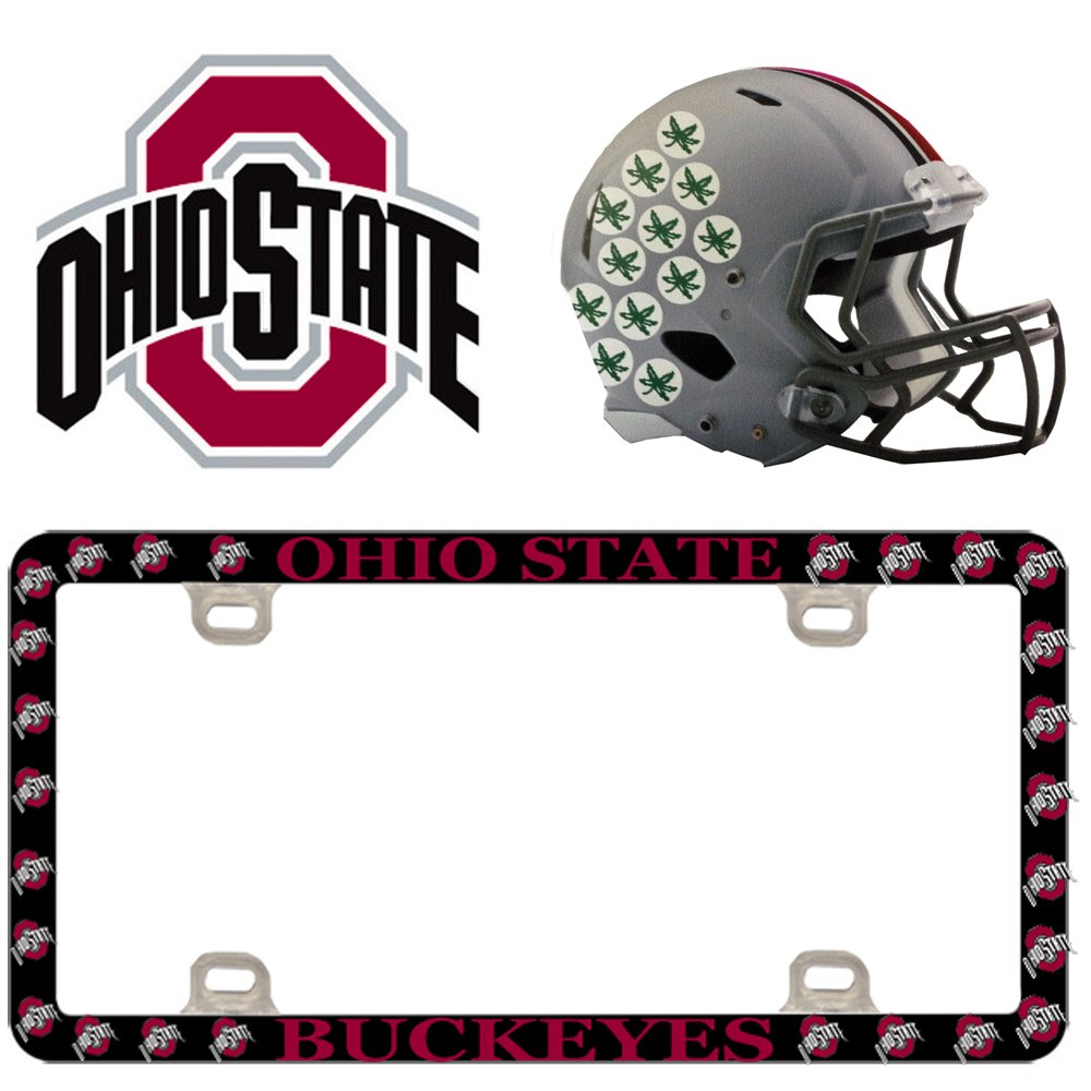 Plastic Ohio State University S71249 License Plate Thin Frame