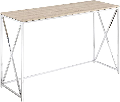 Convenience Concepts Belaire Console Table, Chrome