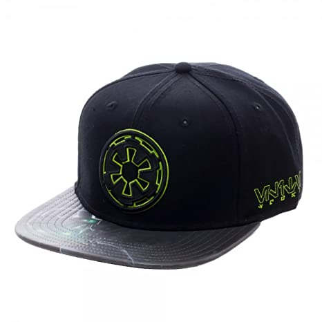b6fa73bee43 Image Unavailable. Image not available for. Color  Star Wars Empire Symbol  Sublimated PU Bill Snapback Baseball Cap