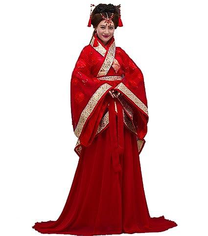 ZENGAI Disfraz antiguo dinastía Tang novia Han ropa china Fotografía Estudio estilo de ejecución, 4