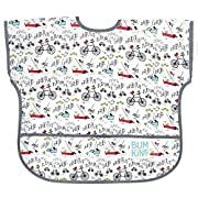 Bumkins Baby Toddler Bib, Waterproof Junior Bib, Urban Bird (1-3 Years)