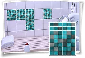 Fliesenaufkleber Fliesenbild Fliesen Fliesenimitat Aufkleber Mosaik