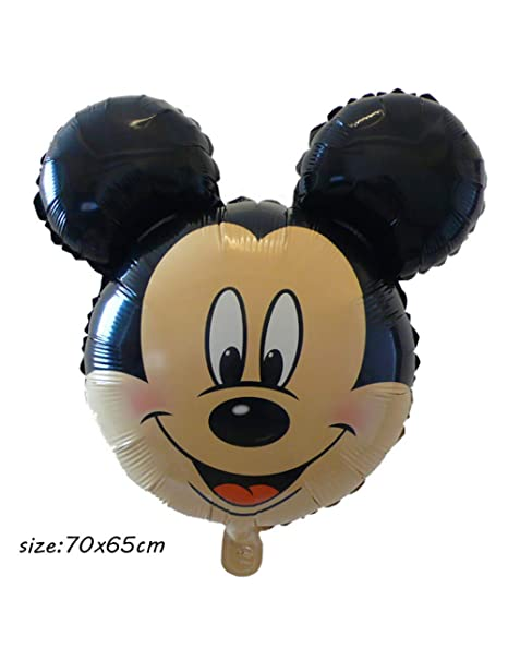 ZLJTT 1 Unidades Mickey Minnie Mouse Head Globos de Papel de ...