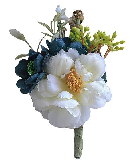 Quibine Accesorio del Traje de Boda de la Flor del Ojal de la Boda ...