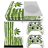 GoldenDeal Xbox One S Console and Wireless Controller Skin Set – Weed 420 – XboxOne S Vinyl For Sale