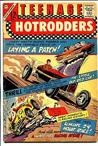 Teenage Hotrodders #17 1966-Charlton-1959 Chevy Impala convertible-LeMans-VG