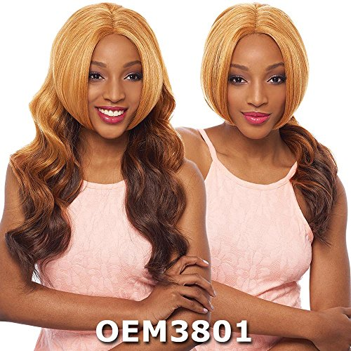 Janet Collection Two Block Lace Wig - CIARA (2 in 1 Style) (1B Off (Ciara Collection)