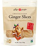 The Ginger People Crystallized Ginger Slices, 5.6 Ounce