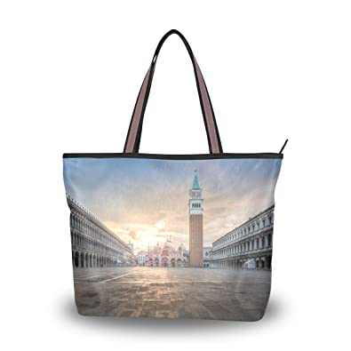 17c488eaf Image Unavailable. Image not available for. Color: Women's Designer Handbags  Fashion Big Canvas Washable Tote Bags Shoulder Bag ...