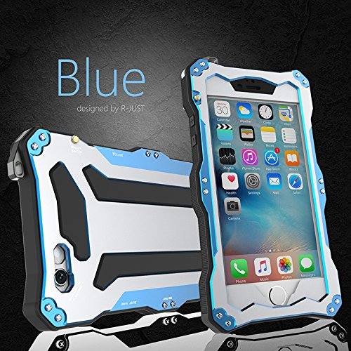 info for 9b26d 4f652 iPhone 6 Plus Case,Bpowe Gorilla Glass Aluminum Metal premium protection  Shockproof Military Bumper Heavy Duty Sturdy Protective Cover Shell Case  for ...