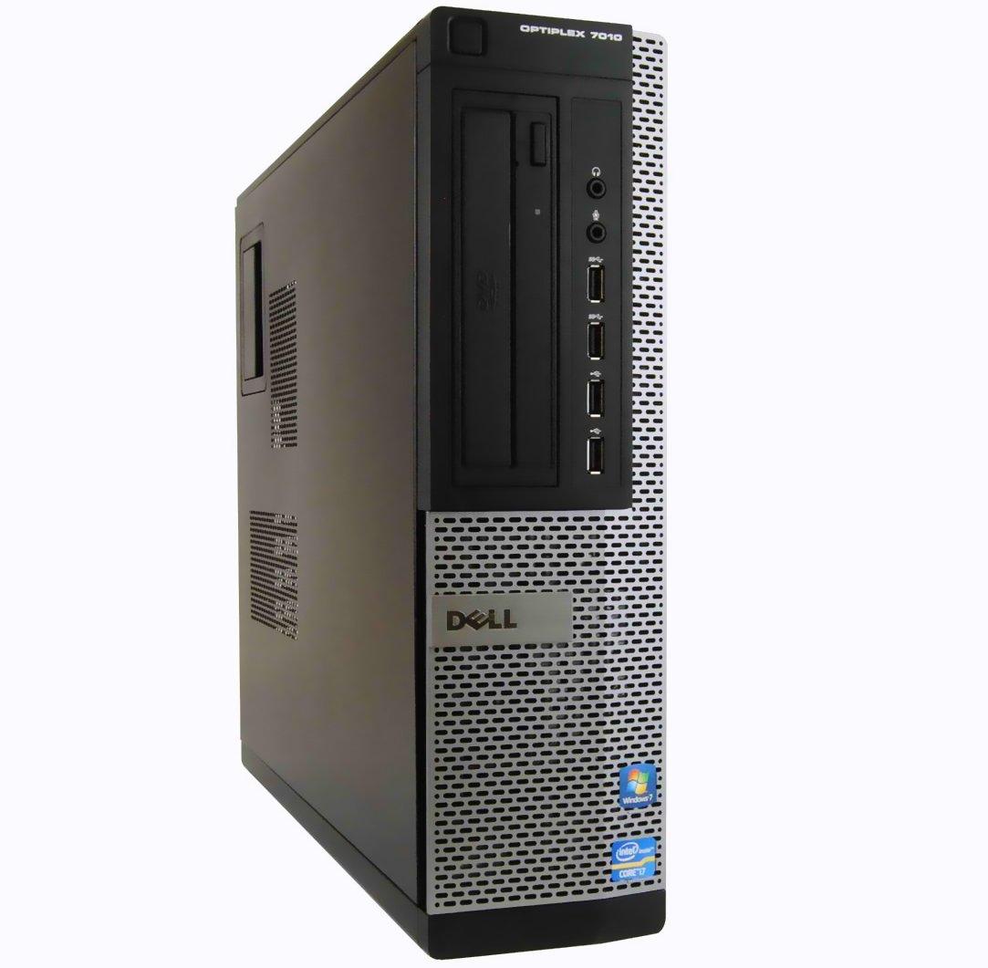 Dell Optiplex 7010 Business Desktop Premium Computer Tower PC (Intel Quad Core i5-3470, 16GB RAM, 2TB HDD + 120GB Brand New SSD, USB 3.0, DVD-RW, Wireless WIFI) Win 10 Pro (Certified Refurbished)