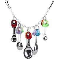 Toy, Colorful Hanging Decoration Bird Chewing Toy for African Grey