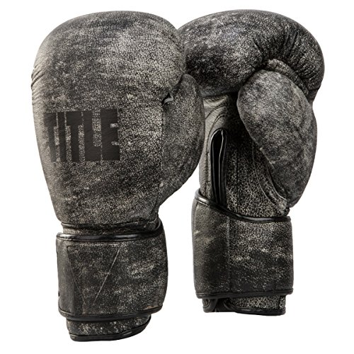 Title Boxing Distressed Glory Training Gloves, 12 oz