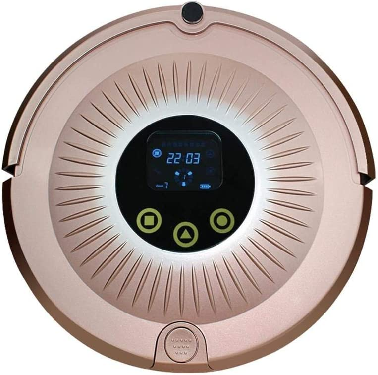 Robot de barrido inteligente automático de barrido y arrastre robot de integrado aspirador doméstico ggsm (Color : Rose Gold) Rose Gold