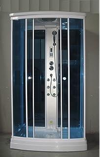 Cabina Doccia Multifunzione 80x120.Cabina Box Doccia Idromassaggio 120x80 Con Seggiolino Versione