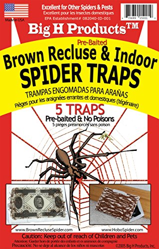 B. RECLUSE SPIDER TRAPS by BIG H PRODUCTS MfrPartNo ACEBR15001