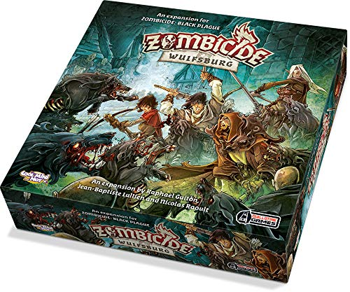 CMON Zombicide BP: Wulfsburg (No Retreat Board Game)