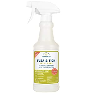 Wondercide Natural Flea, Tick and Mosquito Control for Dogs, Cats, and Home – Flea and Tick Killer, Prevention, Treatment