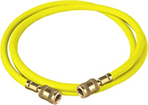 "Robinair (61096) Enviro-Guard Hose for R-134a - 96"", Yellow"