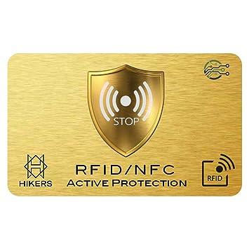 Rfid Karte.Rfid Blocker Nfc Schutzkarte Störsender Eine Karte Schützt Die Gesamte Geldbörse Vor Datendiebstahl Nie Wieder Einzelne Rfid Schutzhüllen Für