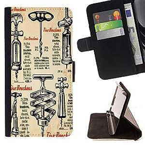 Jordan Colourful Shop - FOR HTC One M7 - I am tired of you - Leather Case Absorci¨®n cubierta de la caja de alto impacto