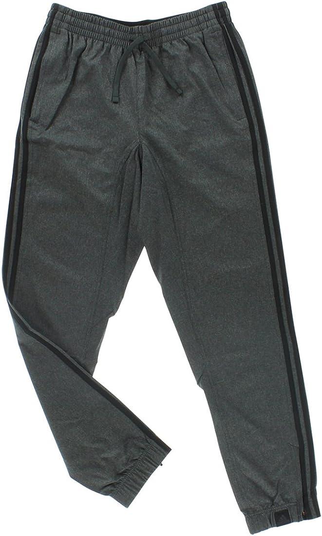 Adidas Mens Performance Standard 1 Woven Pants-black//gray-Large