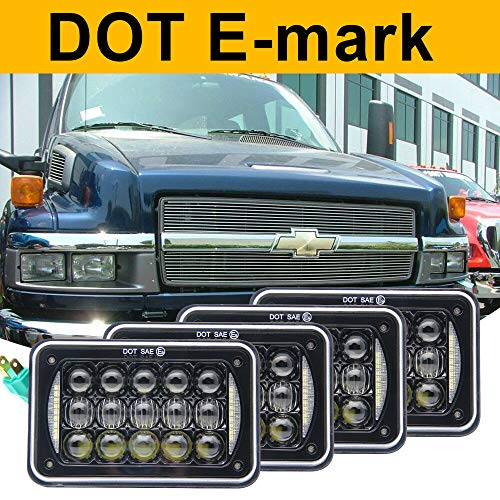 FidgetKute 4pcs 4x6 5D DOT LED Headlights for Chevrolet for sale  Delivered anywhere in Canada