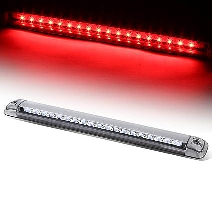 For Chevy/GMC GMT400/GMT800 Van/SUV High Mount LED 3rd Brake Light (Chrome  Housing)