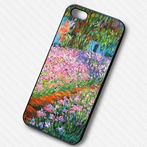 Monet Artists Garden for Cover Iphone 6 and Cover Iphone 6s Case S8H1DE