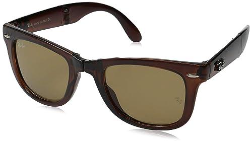 7b978b80b80 Ray-Ban RB4105 Gafas de sol plegables Wayfarer Square  Amazon.com.mx ...