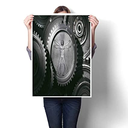 Amazon Com 1 Piece Canvas Wall Art Wheels Of The System