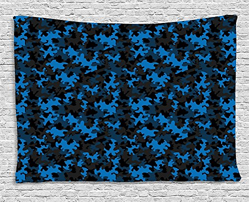 Cheap  Camouflage Tapestry, Dark Toned Pattern Combat Equipment Masking and Hiding Army Attire,..