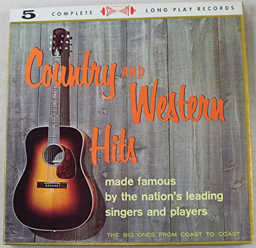 Price comparison product image Country And Western Hits Made Famous by the Nation's Leading Singers and Players (5x vinyl LP Box Set)