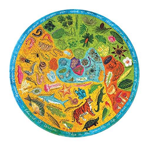 eeBoo Biodiversity Round Puzzle, 500 Pieces