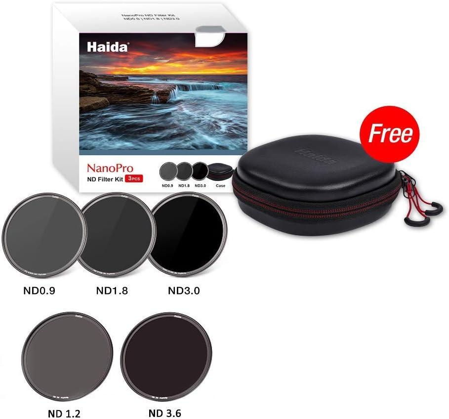 Haida Nanopro Mc Ultra Slim Nd Patinium Filter Set 8x Camera Photo