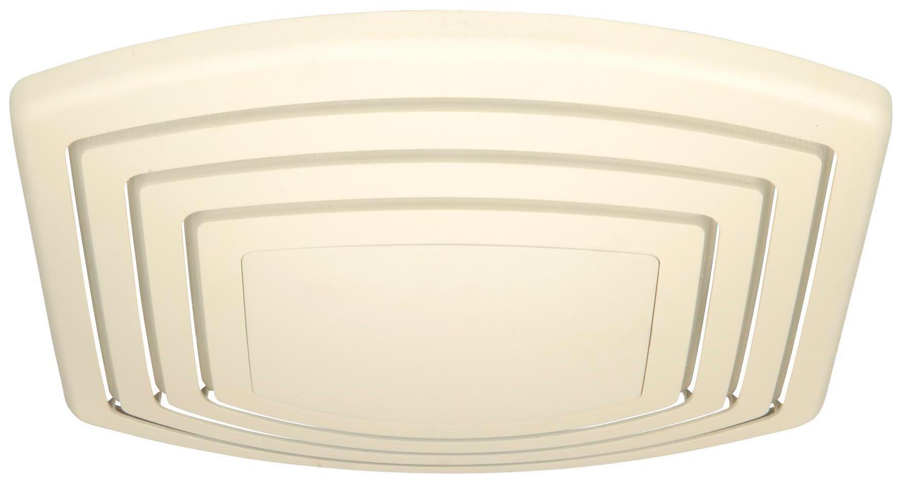 Craftmade TFV110S 110 CFM Silent Ceiling Fan, Designer White