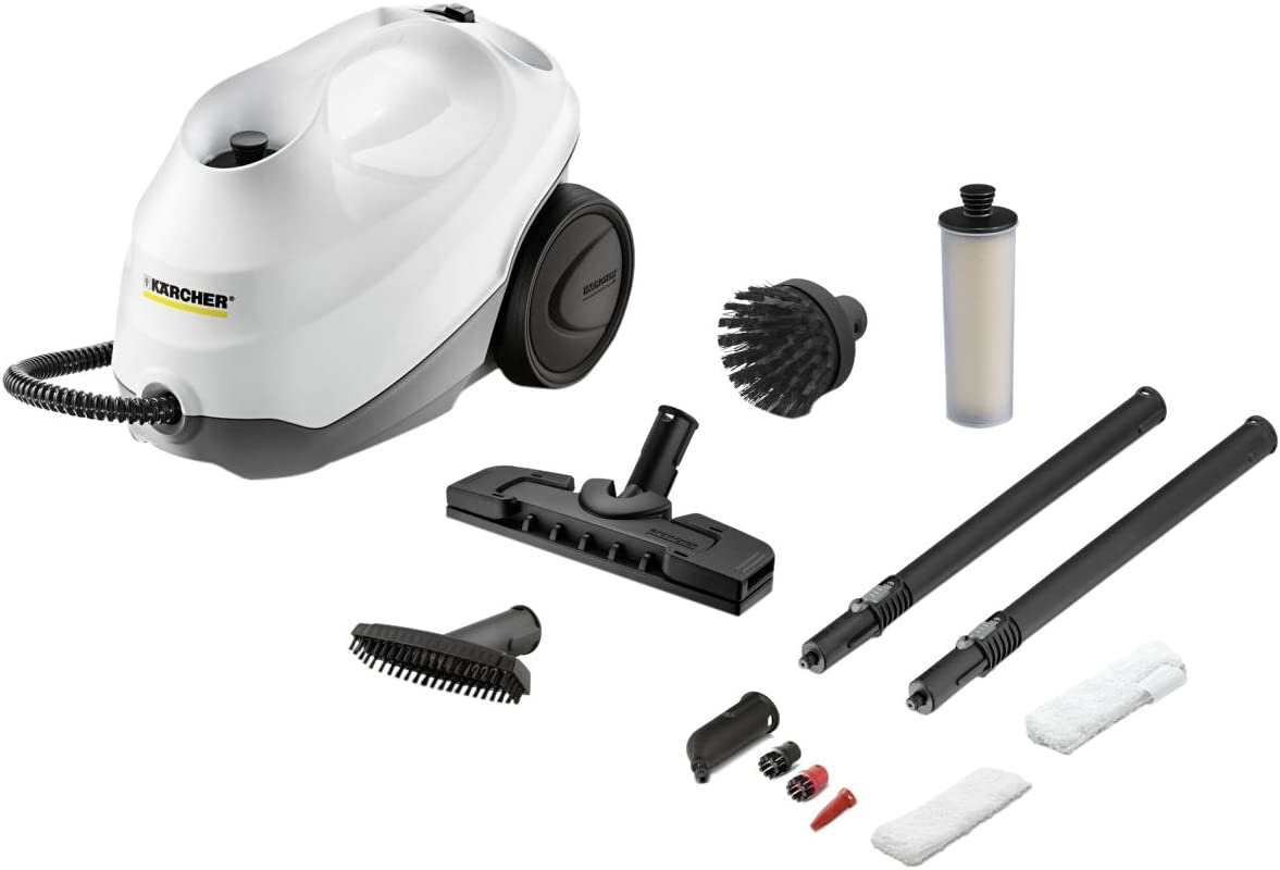 Kärcher SC 3 Premium Limpiador a vapor de cilindro 1L 1900W Negro, Color blanco - Vaporeta (Limpiador a vapor de cilindro, 1 L, Negro, Blanco, 1900 W, 220-240, 50-60): Amazon.es: Hogar