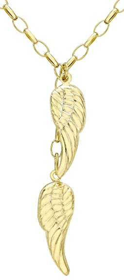 Carissima gold 9ct yellow gold angel wings chain necklace of 46cm18 carissima gold 9ct yellow gold angel wings chain necklace of 46cm18 amazon jewellery aloadofball Choice Image